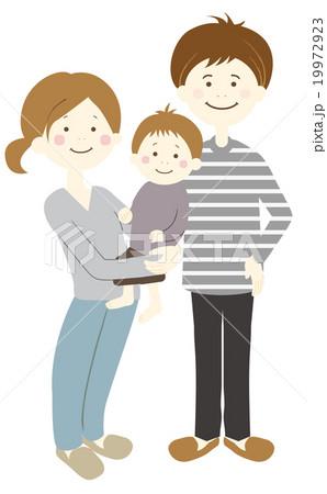 3人家族 19972923