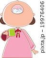 女の子 人物 うがいのイラスト 19976406