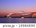 東京ゲートブリッジ夕景 19984690