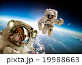 Astronaut in outer space 19988663