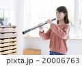 女性 オーボエ 演奏 20006763