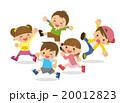 走る子供たち 20012823