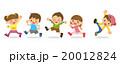 子供 子供たち 走るのイラスト 20012824