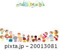 ベクター 人々 街並みのイラスト 20013081