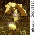 世界の金融相場と黄金の砂時計 20013510