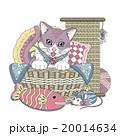 ねこ ネコ 猫のイラスト 20014634