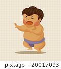 すもう 相撲 ベクトルのイラスト 20017093