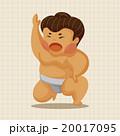 すもう 相撲 ベクトルのイラスト 20017095