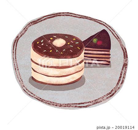 ホットケーキとケーキ 20019114