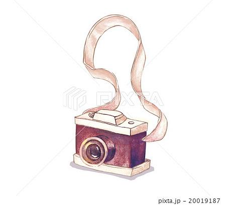 レトロカメラのイラスト素材 20019187 Pixta
