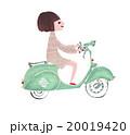 バイクの女 20019420