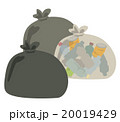 ゴミのイラスト 20019429
