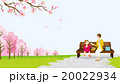 花見 ママと娘 ピクニック 20022934