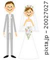 結婚 結婚式 ウェディングのイラスト 20027027