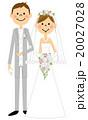 結婚 結婚式 ウェディングのイラスト 20027028