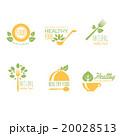 Set of Organic and Natural Food Labels  20028513