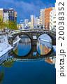 眼鏡橋の雪景色 20038352