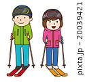 スキー 20039421