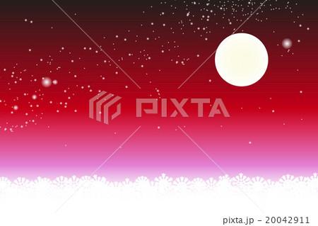 背景素材壁紙スターダスト星屑銀河系満月星空天の川天の河夜景