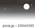 背景素材壁紙,スターダスト,星屑,銀河系,満月,星空,天の川,夜景,キラキラ,縞模様,ストライプ, 20044395