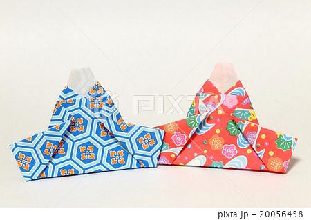 簡単 折り紙 ひな人形 折り紙 : pixta.jp