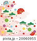 和柄 菊 松のイラスト 20060955