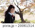 女子高生 通学 秋の写真 20061314