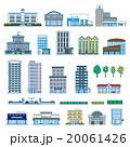 建物 アイコン ベクターのイラスト 20061426