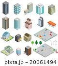 様々な建物 / 立体図 20061494