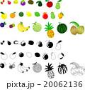 果物 イラスト ベクターのイラスト 20062136