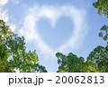 ハートマークの雲,春 20062813