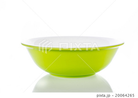 Pink bright bowl on white.の写真素材 [20064265] - PIXTA