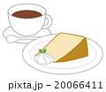 シフォンケーキとコーヒー 20066411