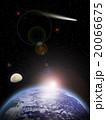 地球と三日月 20066675