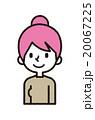 キャラクター 人物 カジュアルのイラスト 20067225