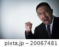 男性 ビジネスマン ガッツポーズの写真 20067481