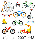 Bicycle flat style isolated on white background 20071448