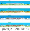 電車 四季 海 20078159