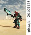 Alien Combat Robot in the Desert 20105426