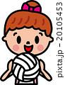 子供 バレーボール 20105453