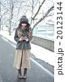 雪とカメラ女子 20123144