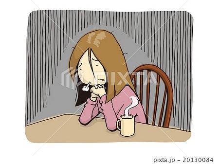 鬱・鬱病のイメージイラスト 20130084