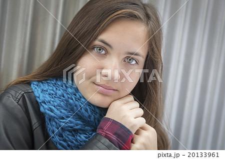 Was Cute brunette teen pity, that