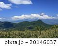 明神ケ岳 富士山 青空の写真 20146037