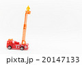おもちゃの消防車と消防隊員: Toy Fire Truck and Firefighter 20147133