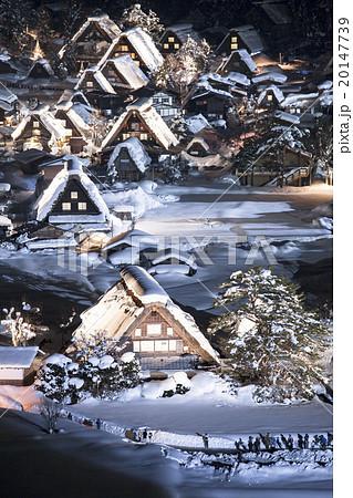 冬の白川郷 20147739