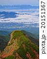 八ヶ岳連峰・横岳大同心と中央アルプス 20151367