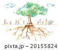 木 大木 人々のイラスト 20155824