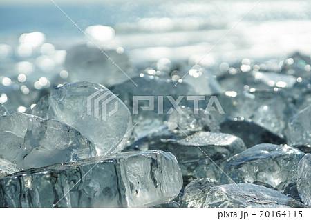 大津海岸 氷塊 (豊頃町)の写真素材 [20164115] - PIXTA