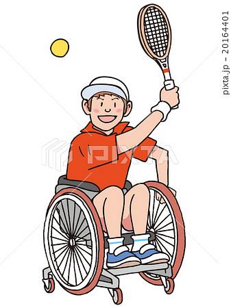 車椅子テニス 20164401